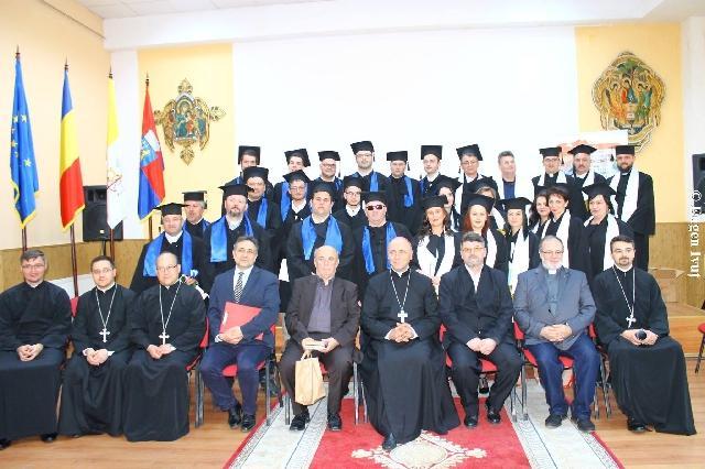 Festivitatea de absolvire a Promotiei 2017 – Facultatea de Teologie Greco-Catolica Oradea,