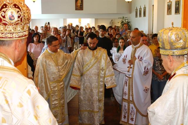 Vizita pastorala la Timisoara. Hirotonire de preot,