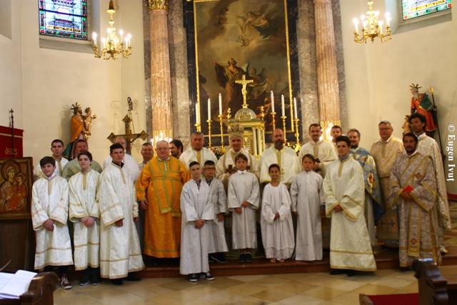 Vizita pastorala la comunitatea româneasca din Viena,