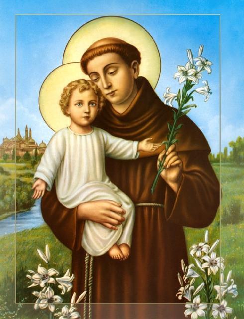 Sfântul Anton de Padova,