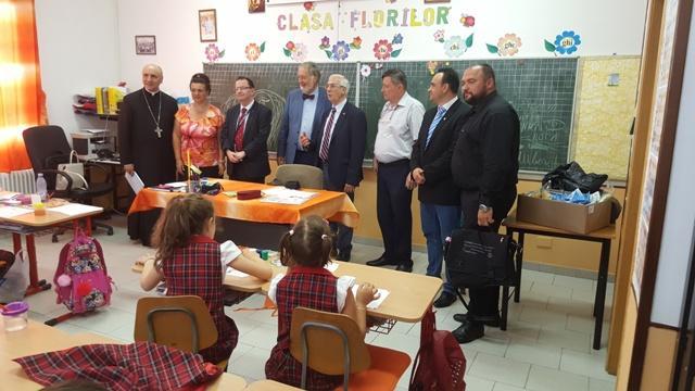 Vizita consiliului director al Uniunii Mondiale a Profesorilor Catolici la Oradea,