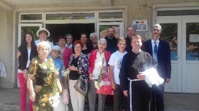 Dragesti – prima biserica franciscana greco-catolica din România,