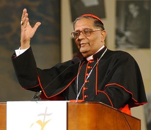 Moartea cardinalului Dias. A fost arhiepiscop de Bombay si prefect al Propaganda fide,