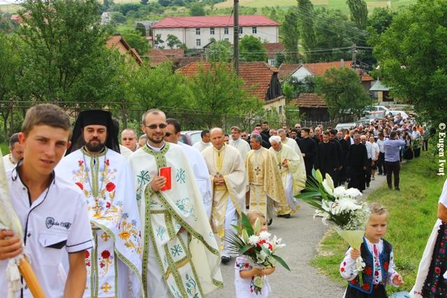 Sfintirea noii Biserici din Halmasd,