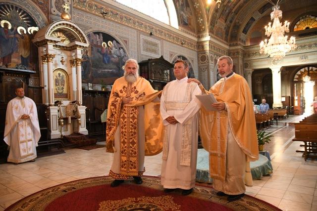 Hirotonire de diacon în catedrala Lugojului,