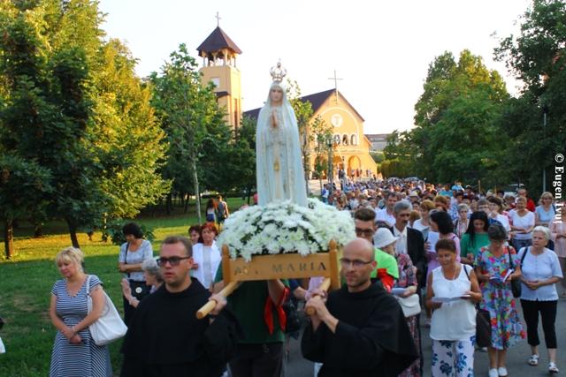 Praznicul Adormirii Maicii Domnului la Manastirea Franciscana,