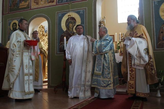 Hirotonirea întru preot a teologului Sergiu Soica,