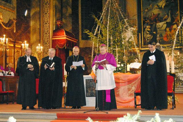 Începutul Saptamânii de Rugaciune pentru Unitatea Crestinilor,