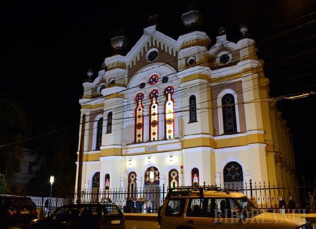 """Dupa 8 ani de lucrari: La final de Sabat, Sinagoga Ortodoxa a fost inaugurata"","