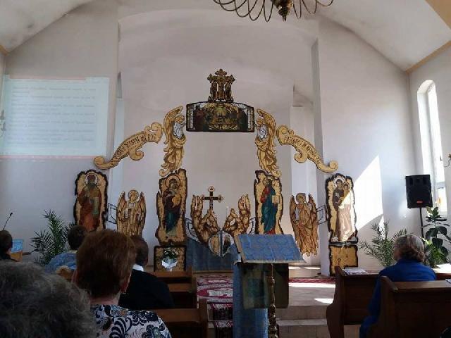 Hramul bisericii din Valea lui Mihai,