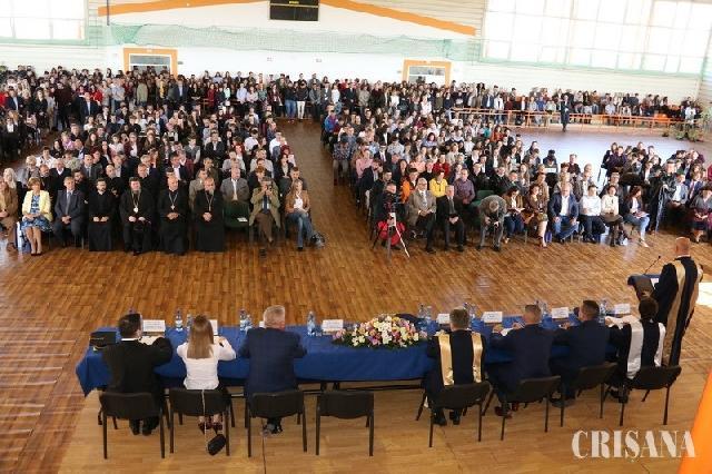 """Debut de an universitar la Oradea – Mai multi studenti, mai putini profesori"","