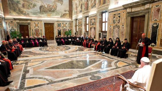 """""""Congregatie pentru Bisericile Orientale la 100 de ani. Roma, adunare plenara între 9 si 12 octombrie"""","""