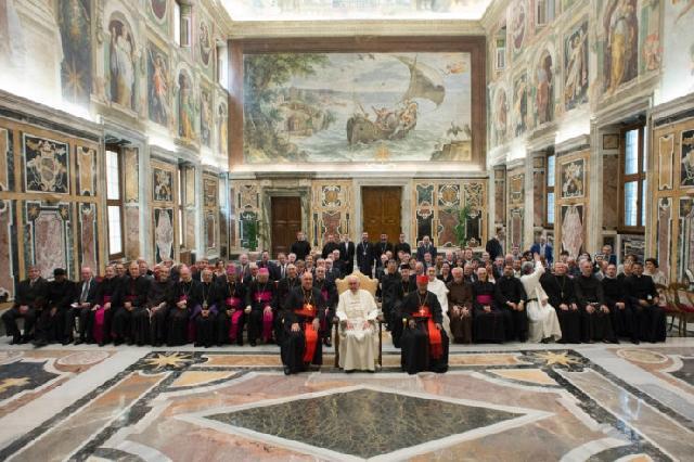 Mesaj al Sfântului Parinte Francisc cu ocazia centenarului întemeierii Institutului Pontifical Oriental si a Congregatiei pentru Bisericile Orientale,