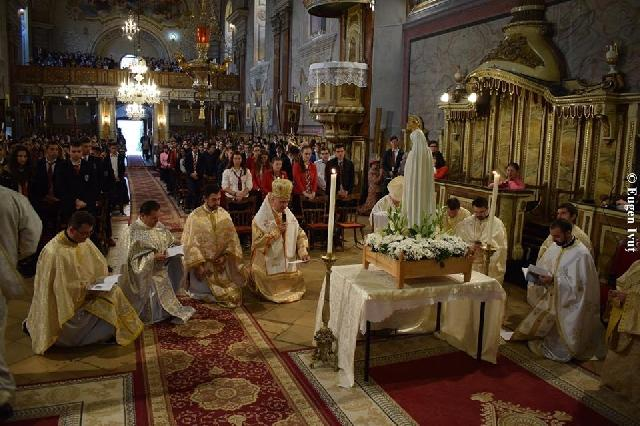 Încheierea anului jubiliar al aparitiilor la Oradea,