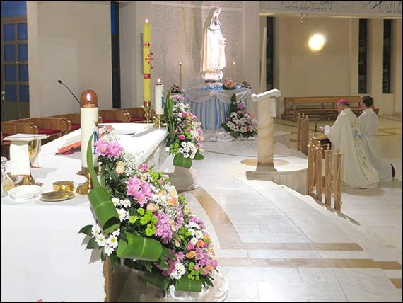 """""""Celebrare în catedrala din Iasi, cu ocazia încheierii centenarului aparitiilor de la Fatima"""","""