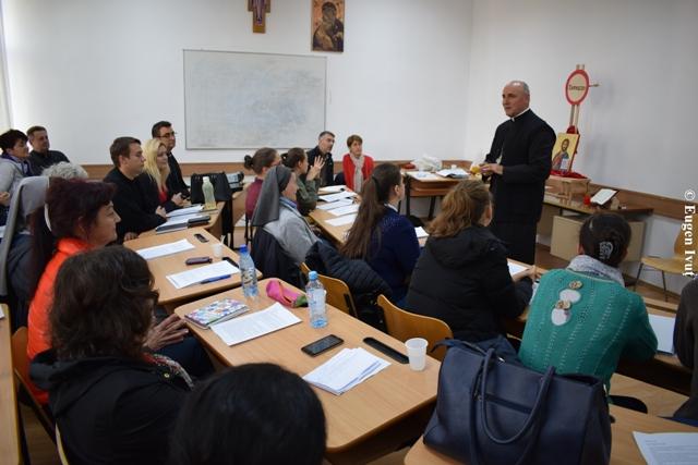 Sesiune de formare pentru profesorii de religie greco-catolica,