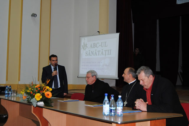 """""""ABC-ul Sanatatii"""" la Liceul Teologic Greco-Catolic,"""