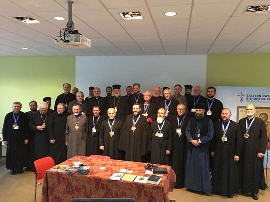 Relatarea PS Florentin de la Întâlnirea Episcopilor Catolici Rasariteni din Europa,