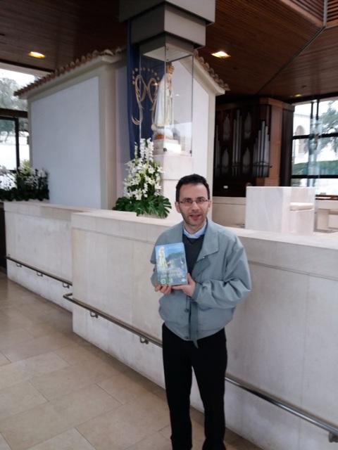 Cartea Parintelui Cristian Sabau a ajuns la Fatima,