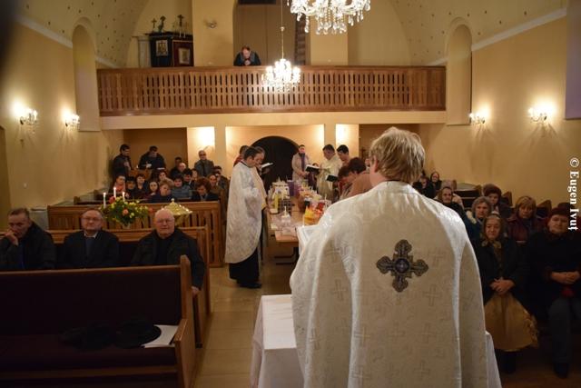 Taina Sfântului Maslu în Parohia Beliu,