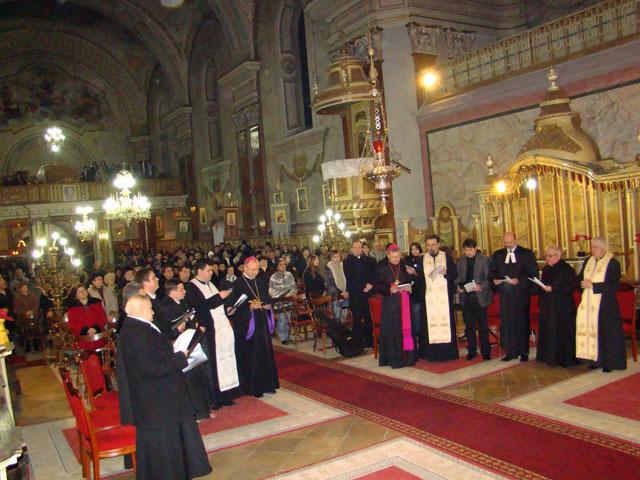 """Încheierea Saptamânii de Rugaciune pentru Unitatea Crestinilor la Catedrala """"Sfântul Nicolae"""","""