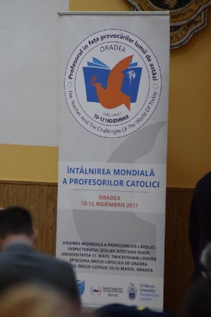 Întâlnirea Asociatiei Mondiale a Profesorilor Catolici,