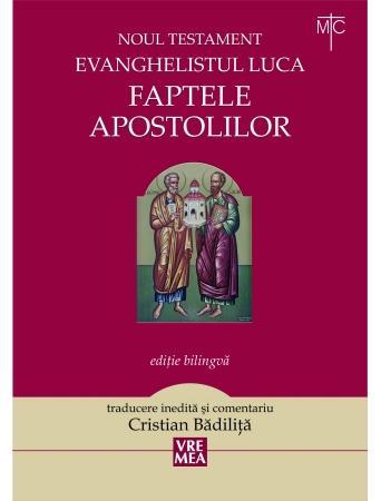 Aparitie editoriala: Faptele apostolilor,