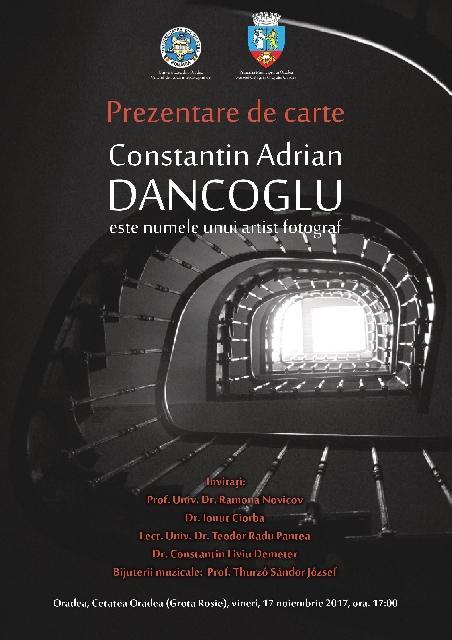 """""""Constantin Adrian DANCOGLU este numele unui artist fotograf"""","""