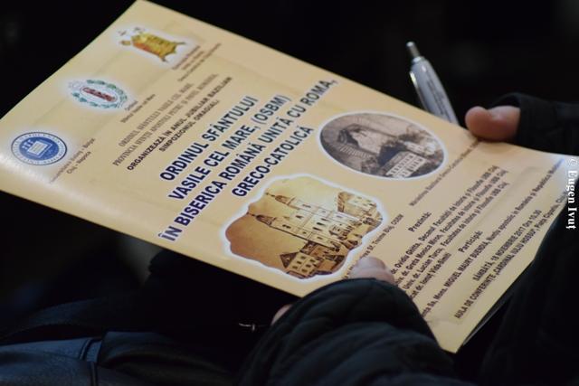 Simpozion omagial în Anul Jubiliar Bazilian,