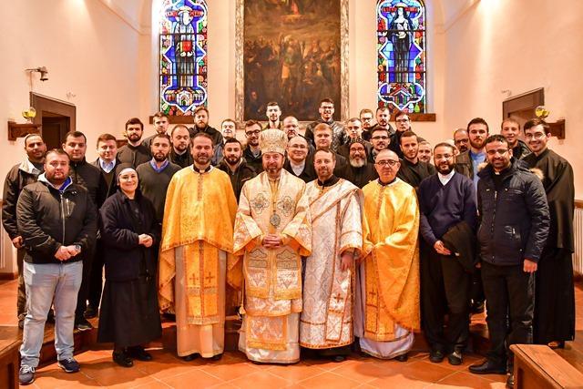 Reculegeri spirituale pentru studentii Colegiului Pontifical Pio Romeno,