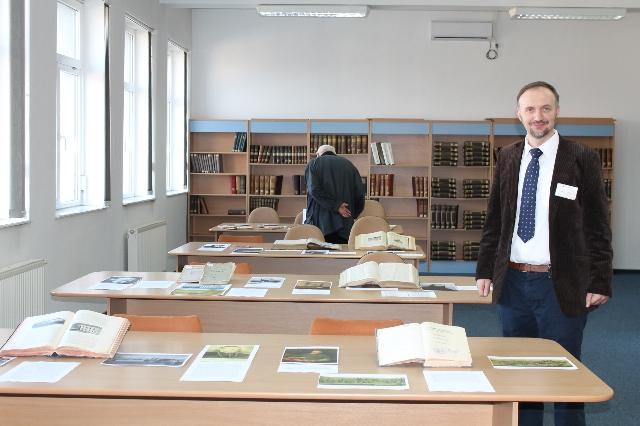 Expozitie de carte si presa veche la Biblioteca Judeteana Oradea,