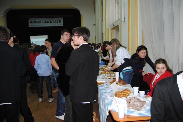 Târg gastronomic la Liceul Teologic Greco-Catolic,