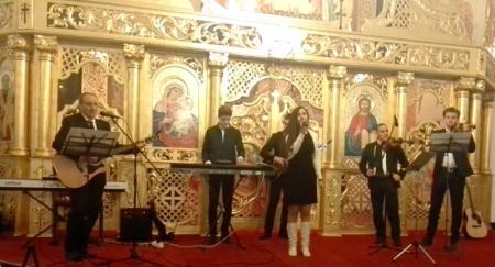"""Concert caritabil de colinde la Biserica Greco- Catolica """"Sfânta Treime"""" din Simleu Silvaniei,"""