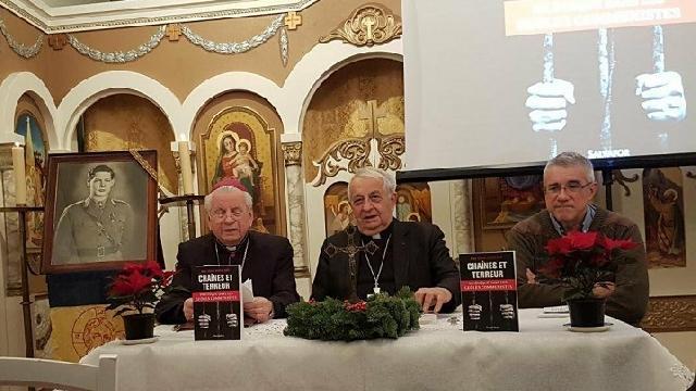 Cartea LANTURI SI TEROARE prezentata la Misiunea Greco-Catolica Româna din Paris,
