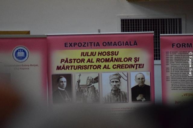 Simpozion omagial la Cluj,