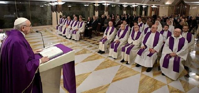Papa Francisc: Inima mea este ca un leagan care asteapta venirea Pruncului Isus?,