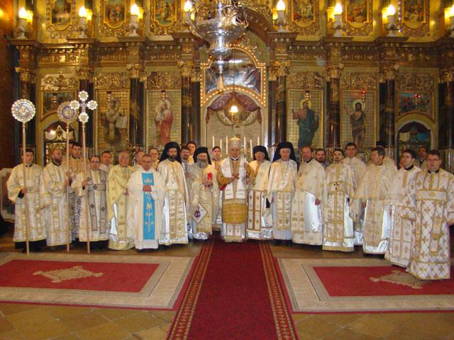Liturghia de Sfintii Trei Ierarhi – Hramul Seminarului Teologic din Oradea,