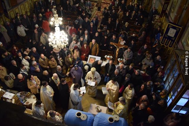"""Praznicul Botezului Domnului în Catedrala """"Sfântul Nicolae"""","""