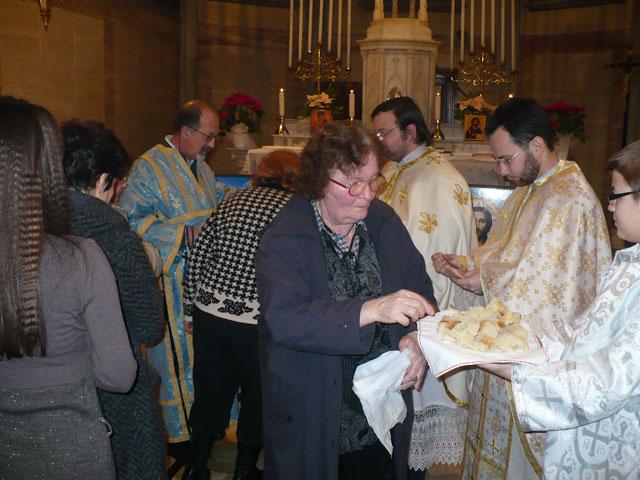 Sarbatoarea Sfintilor Trei Ierarhi la Padova,