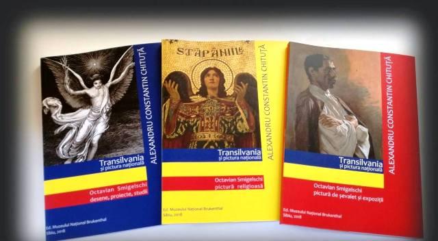 Tripla aparitie editoriala dedicata pictorului Octavian Smigelschi,