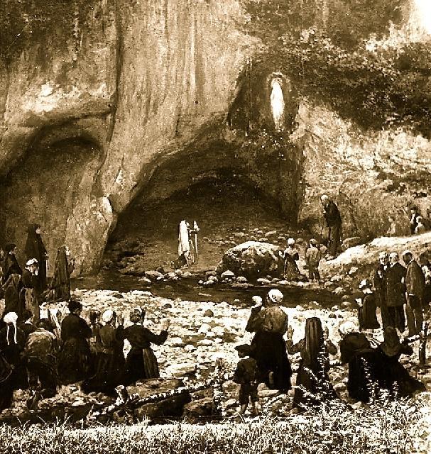 Lourdes – 160 de ani de la prima aparitie a Sfintei Fecioare,