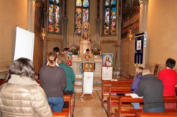 Aniversarea Fecioarei de la Lourdes si Ziua Mondiala a Bolnavului sarbatorite în comunitatea de la Padova,