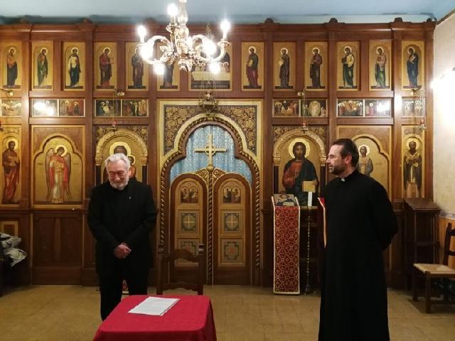 Conferinta despre virtuti la Colegiul Pontifical Pio Romeno,