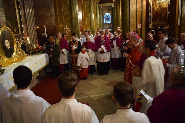 Sfintirea altarului dedicat Fericitului Szilárd Bogdánffy,