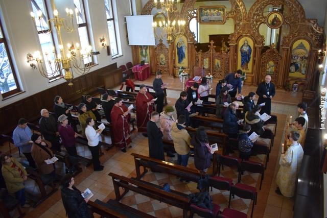 """Calea Sfintei Cruci în Parohia """"Tuturor Sfintilor"""","""