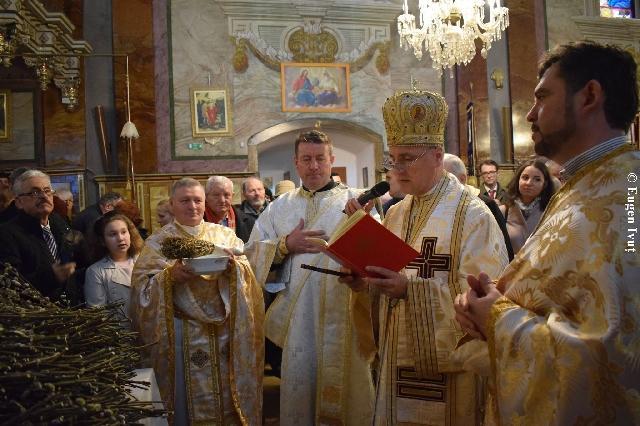"""Sarbatoarea Intrarii Domnului în Ierusalim la Catedrala """"Sfântul Nicolae"""","""