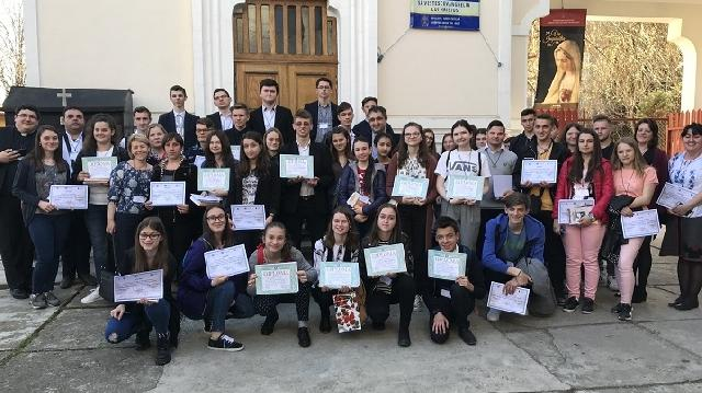 Bucuresti – Olimpiada nationala de religie catolica 2018,