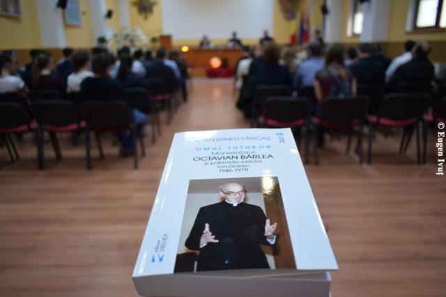 Lansarea cartii dedicata Monseniorului Octavian Bârlea,