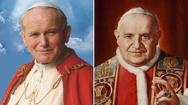 Patru ani de la canonizarea lui Ioan Paul al II-lea si Ioan al XXIII-lea,