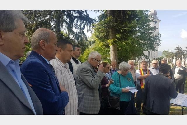 Comemorarea martirilor beiuseni: dr. Ioan Ciordas si dr. Nicolae Bolcas,